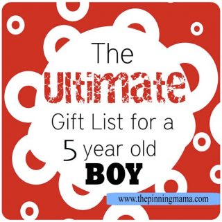 Best Gift Ideas for a 5 Year Old Boy!