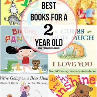 Best Books for 2 Year Old Girls