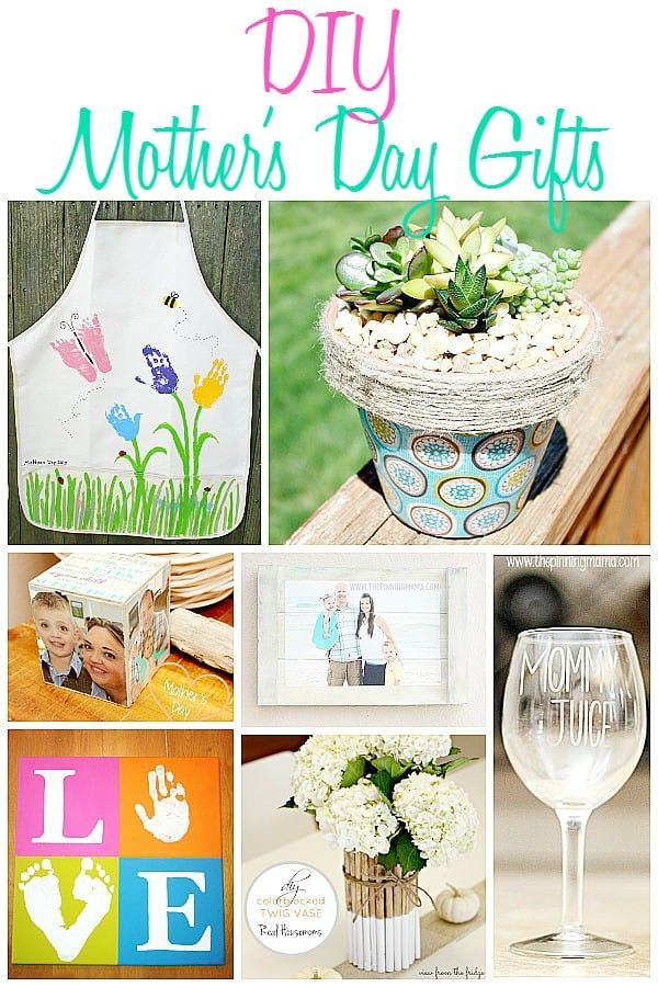Diy Mother 39 S Day Gifts The Pinning Mama: mothers day presents diy