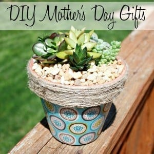 Easy DIY Mother's Day gifts & crafts that every woman will love.