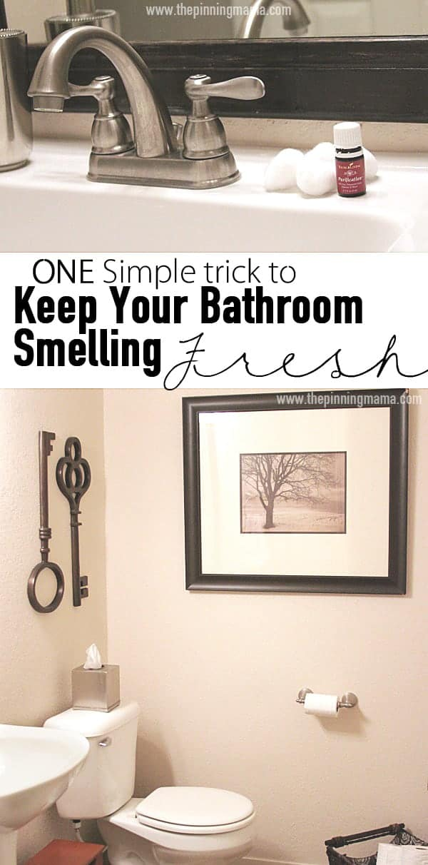 Bathroom Smells one quick trick to keep your bathroom smelling fresh | the pinning