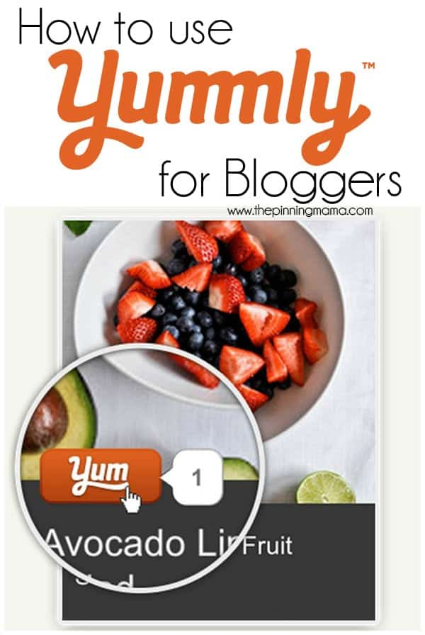 Yummly is now one of my top traffic sources everyday!  See how to use  Yummly to drive traffic to your site!