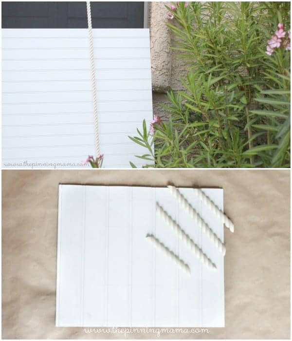 4 Step Diy Beadboard Picture Frame 2 Ways The Pinning Mama