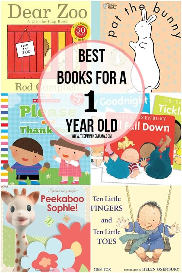 A fabulous collection of the best books for 1 year old girls!