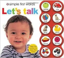 Simple First Words Let's Talk by Roger Priddy