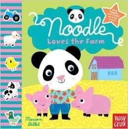 Noodle Loves the Farm by Nosy Crow, Marion Billet