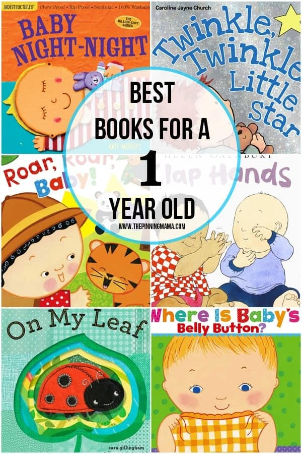 A fabulous collection of the best books for 1 year old boys!