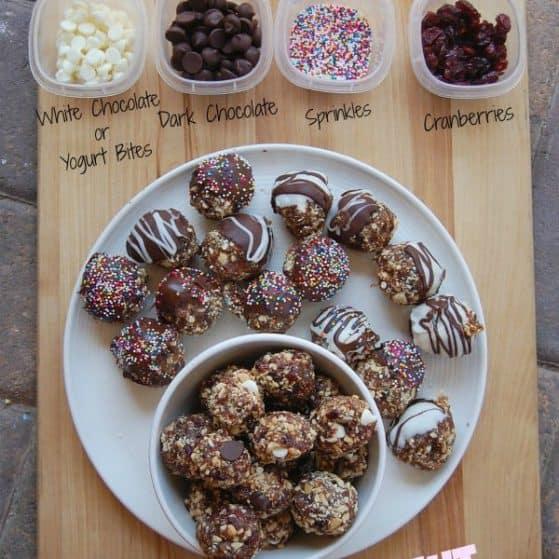 It's like a Lara bar for kids!! Fruit & Nut Bites - Kid Friendly Healthy Snack