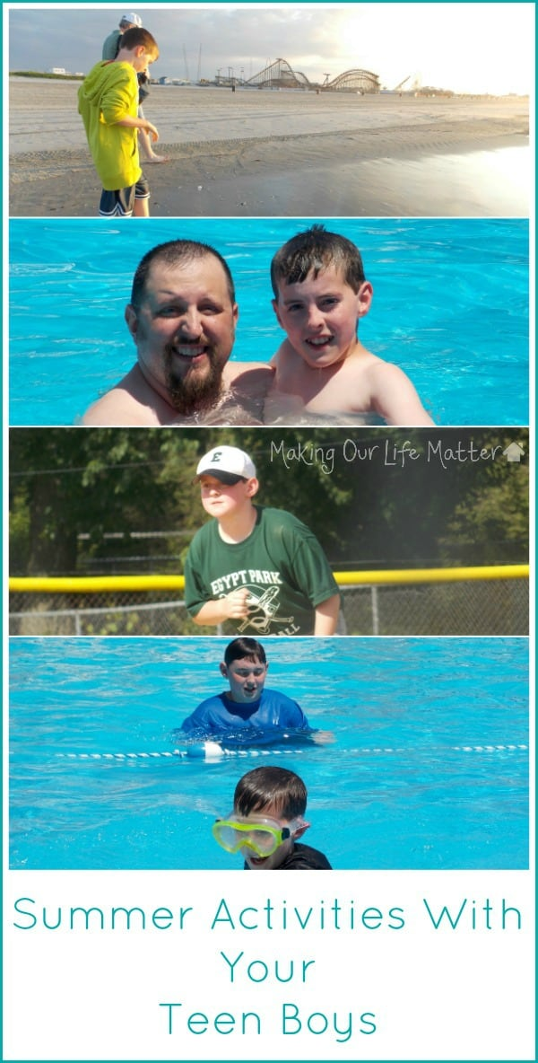 8 Summer Activities For Teen Boys The Pinning Mama