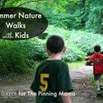 Kids Summer Nature Walk