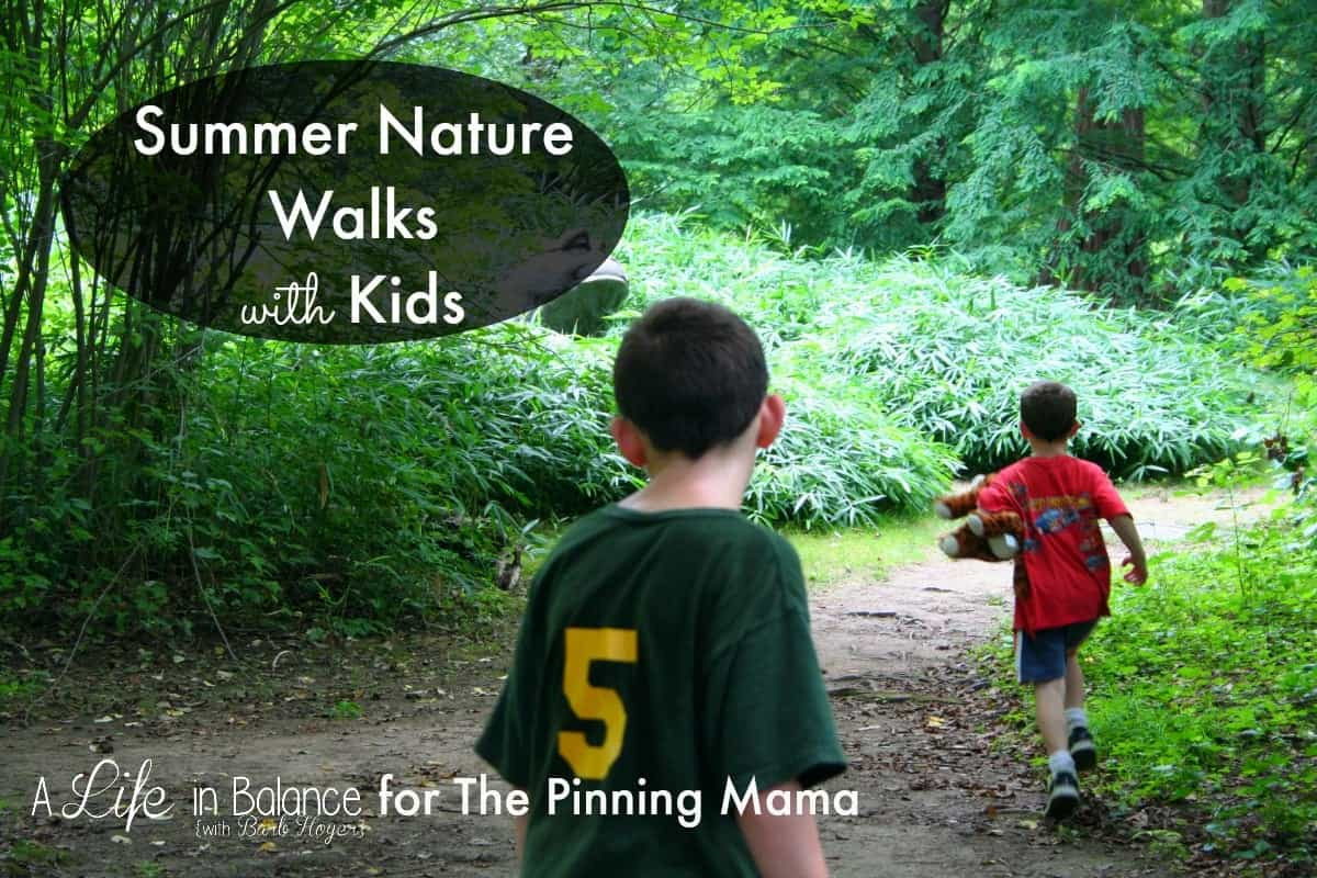 Every detail you need to go on a nature walk with your kids that will be a great way to learn and open them up to conversation!