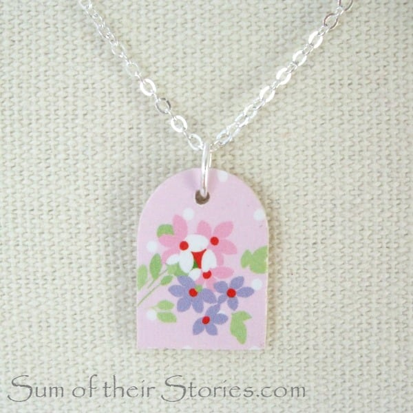 light pink pendant