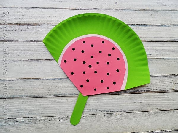 20+ Watermelon Crafts for kids!! Perfect crafts for summer!
