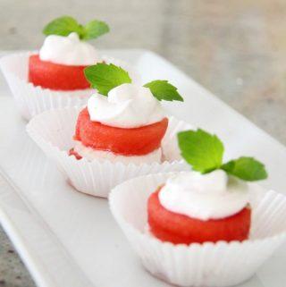 Watermelon Muffins