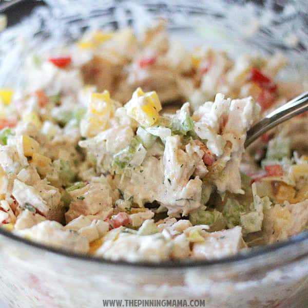 Ranch Chicken Salad Recipe {Paleo- Whole30 Compliant}