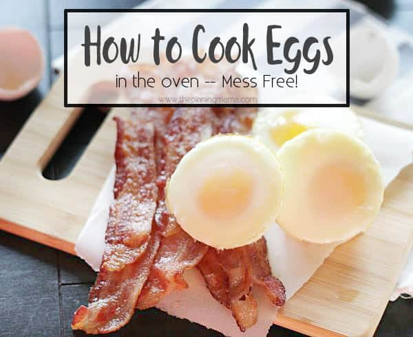 How to bake eggs in the oven. Step by step instruction on how to get perfect eggs every time!