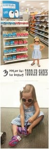 Great tips on buying shoes your toddler will love!