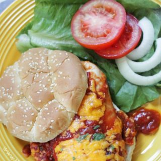 Sloppy Joe Chicken Bake {Easy Family Friendly Dinner Idea}