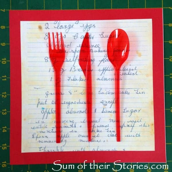 arrange cutlery