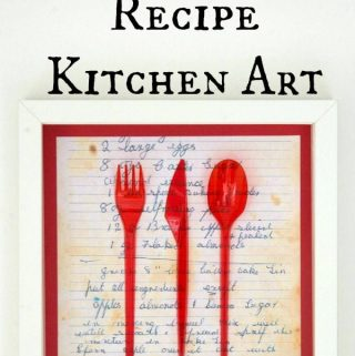 Grandma's Recipe Kitchen Art