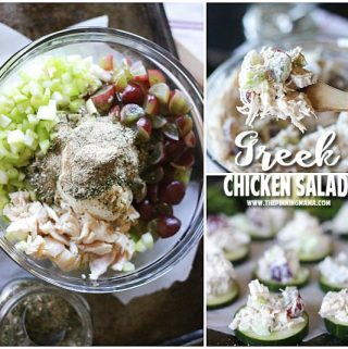 Greek Chicken Salad Recipe {Paleo, Whole30 Compliant}