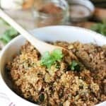 Mexican Cauliflower Rice recipe -Get your Mexican food fix while you are on Whole30!