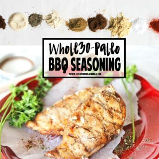 Homemade Barbecue Seasoning Mix {Paleo + Whole30}