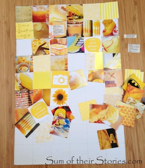 arrange squares