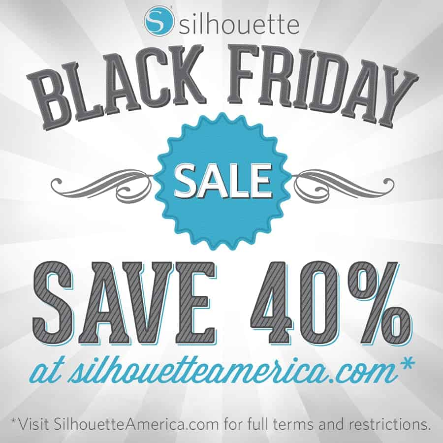 Black Friday 2015 - Silhouette Mint Sale - Coupon CODE PINNING
