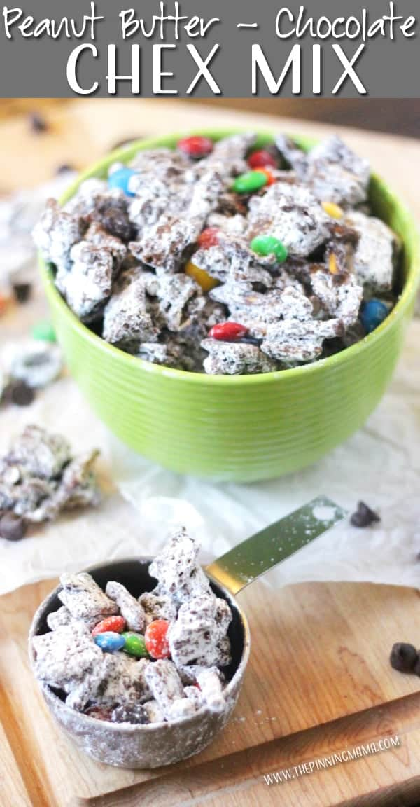 Puppy Chow Chex Mix recipe is my FAVORITE. I couldn't believe how easy it was to make the first time I tried it and now I am totally addicted this stuff!