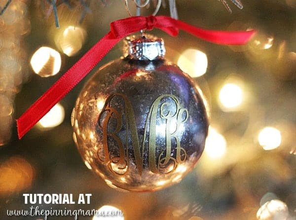 5 minute DIY Mercury Glass Christmas Ornament - These sell for $30 each in boutiques!!