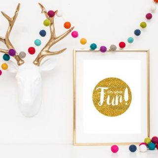 Oh What Fun Free Christmas Printable + MORE!