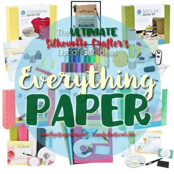 The mecca of gift ideas for paper crafters!!  Love this list!