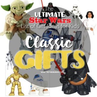 The ULTIMATE List of Gift Ideas for Kids who LOVE Star Wars!