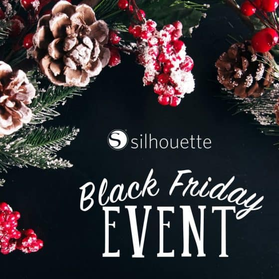 Black Friday 2015 - Silhouette CAMEO Discount COUPON CODE PINNING