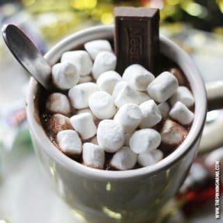 3 Minute Candy Bar Hot Chocolate Recipe