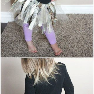 How to Make a No Sew Fabric Tutu Dress