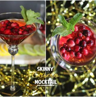 Skinny Cosmopolitan Mocktail Recipe