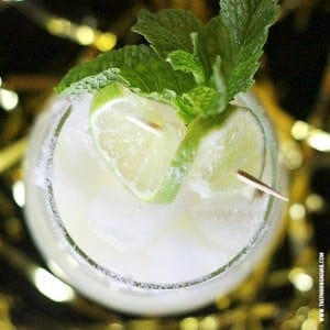 This virgin margarita recipe is made with a secret ingredient! It tastes almost just like the real thing but you feel good in the morning!