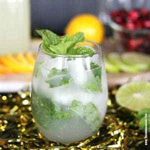 Mojitos are my favorite! Saving this non-alcoholic version to make for our next girl's night!