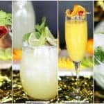 Virgin recipes for classic cocktails - these are really simple to make and a great idea to add to your drink selection at a party!