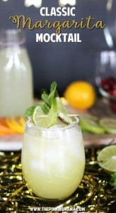 How to make a Virgin Margarita- these are a fun drink idea for a baby shower or family friendly event!