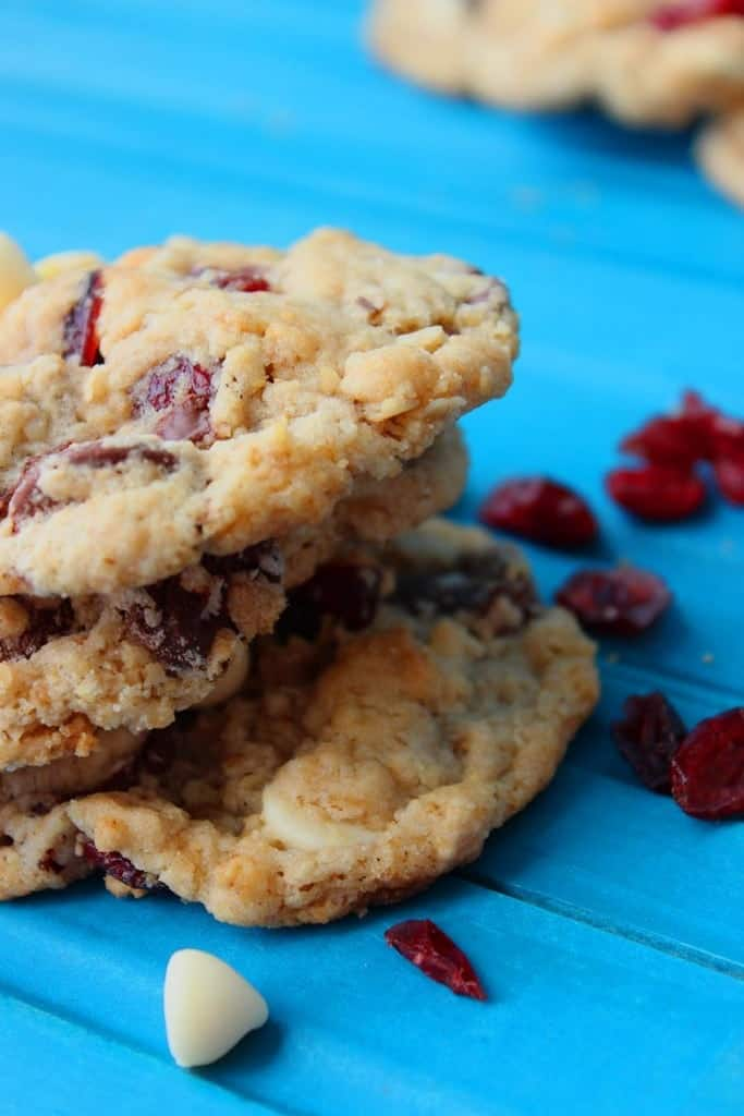 Try these cranberry oatmeal cookies for your holiday festivities!