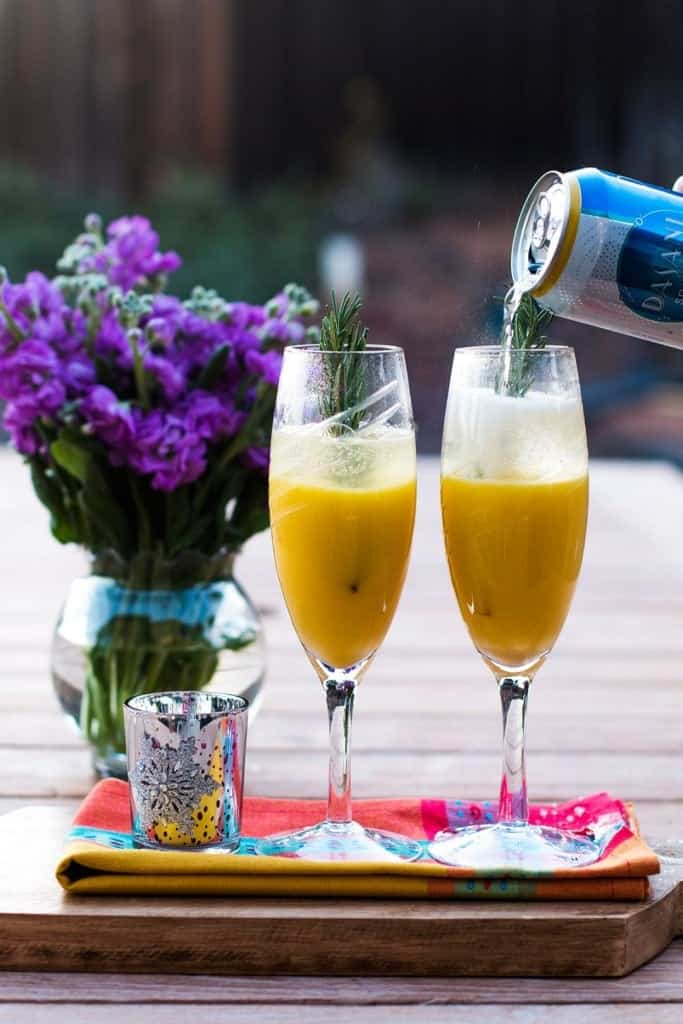 90+ sparkling drink recipes for any celebration, party or holiday gathering