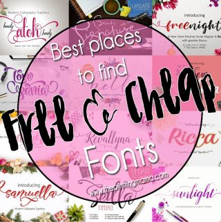Best Places to Find FREE and CHEAP Fonts
