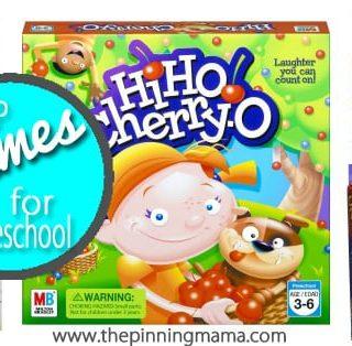 Best Games for Preschoolers