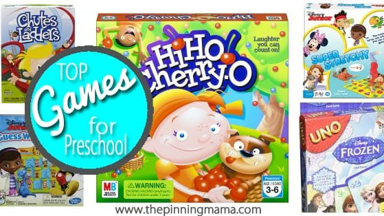 Best Games for Preschoolers- Age Perfect games for preschool your little one will love to play!