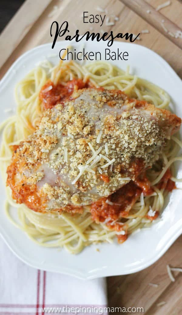 Easy Chicken Parmesan Bake Recipe 8w