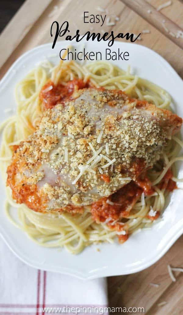 Easy Chicken Parmesan Bake Recipe 8w
