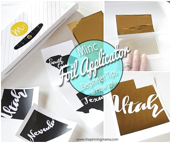 How to Use the Minc Foil Applicator + Beginner Tips • The
